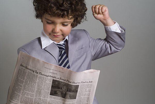 学生のみなさん新聞読んでますか