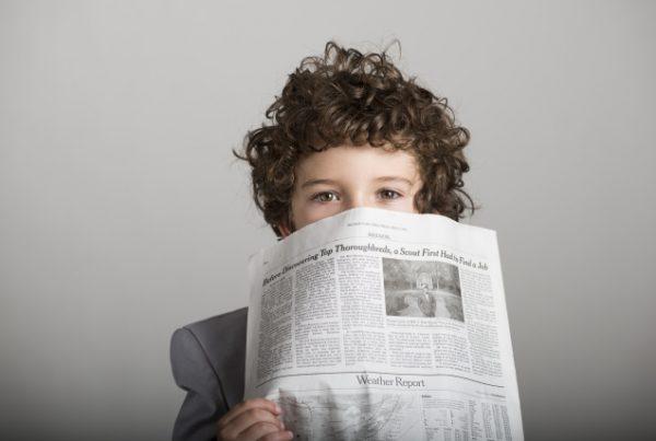 新聞 子ども
